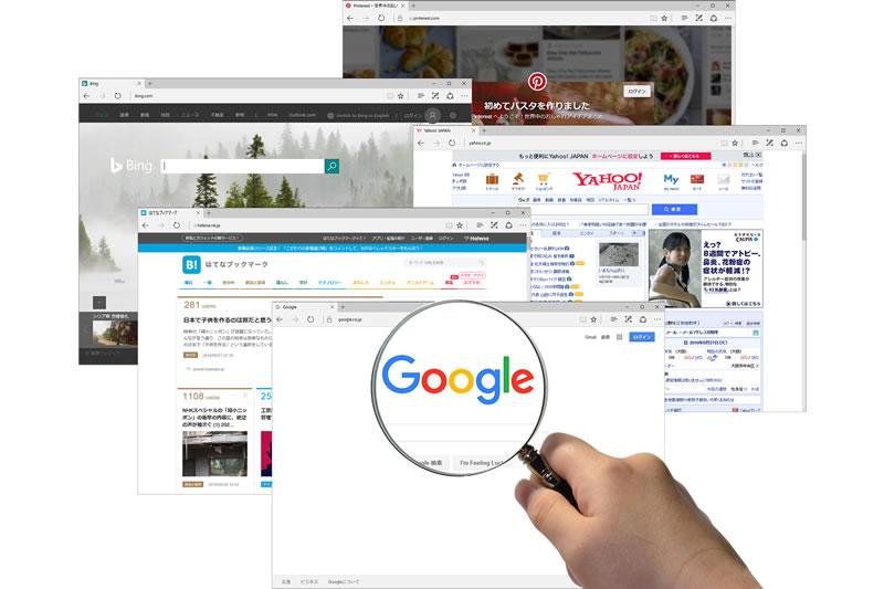 検索エンジンを意識したホームページ制作
