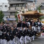 だんじり祭り1